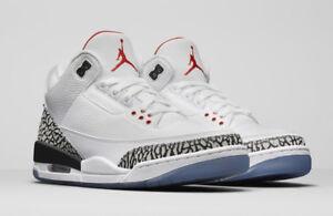 the best attitude 4b374 c9a51 Details about Nike Air Jordan 3 Retro OG NRG SZ 10 Slam Dunk White Cement  Fire Red 923096-101
