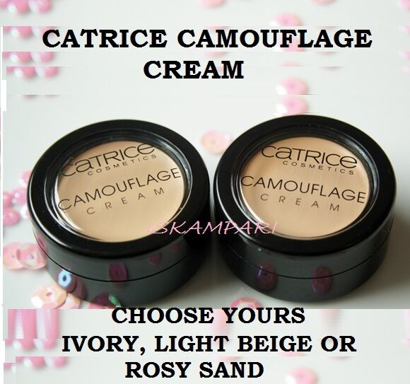CATRICE Camouflage Crème avec une Effet Durable texture Catrice