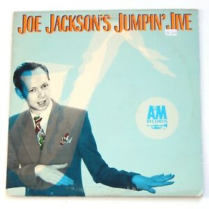 JOE-JACKSON-Jumpin-Jive-12-034-Vinyl-Record-Album-LP-1981-Jump-Swing-80s-Pop