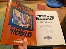 CYCLE OF THE WEREWOLF, Stephen King (1983), HC, *1st/1st*  **SIGNED**