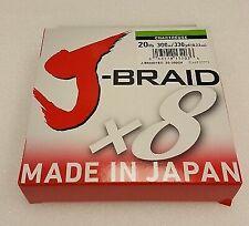 Dark Green JBU80-300DG Daiwa J-Braid 80LB Test 20LB Diameter 330 Yards