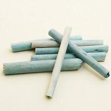 20 bâtons en bois naturel turquoise. Décoration de mariage