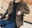 Vintage-Men-039-s-Corduroy-Coat-Casual-Pocket-Jacket-Button-Loose-Short-Coat-Outwear thumbnail 2