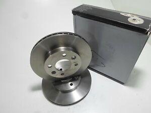 Pair Front Brake Discs Pair Of Brake Disc Front Samko RENAULT Clio Megane