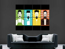 BREAKING BAD HUGE TV SERIES USA IMAGE  LARGE WALL POSTER PICTURE !!