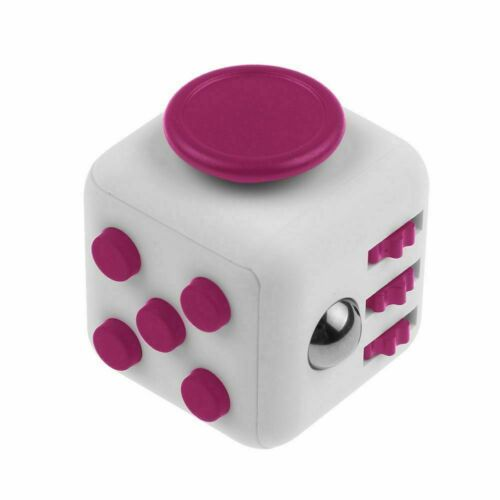 Fidget Cube Anxiety Stress Relief Focus 6-side Calm Funny Finger Toy Kids/&Adults