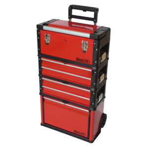Blackline Modular Tool Box Trolley Mobile Cart 4 Module Stack ...