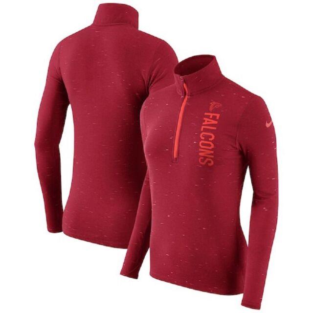 7f4328af Atlanta Falcons Nike Womens Element 1/4 Zip Pullover Shirt 843256 2xl