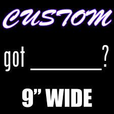Custom Got ? Vinyl Decal Sticker for Car Windows - Die Cut JDM Milk