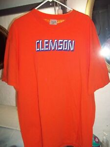 122ab61fe5b Image is loading CLEMSON-TIGERS-SHIRT-MENS-2XL-BY-TCX-APPAREL-