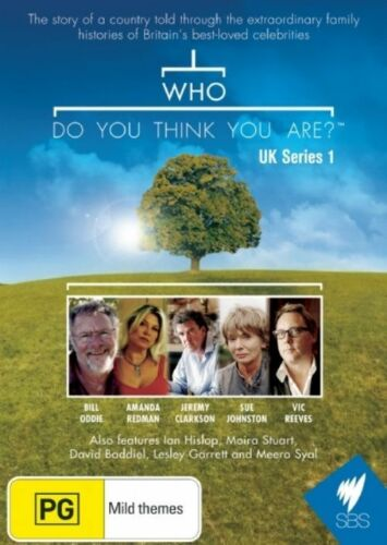 1 of 1 - Who Do You Think You Are? - UK: Series Season 1 (DVD, 2008, 3-Disc Set), REG 4