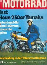 Motorrad 13 71 Suzuki TM 400 R Yamaha DS7 Rudolf Kurth 1971 Japan Motorräder