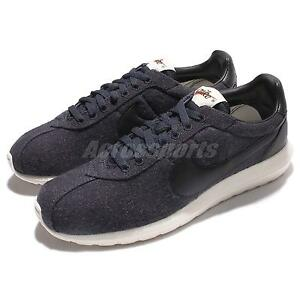 qyrvmm Nike Roshe LD-1000 Winter Wool Navy Black Men Running Shoes