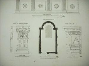 Grandjean-De-Montigny-1813-Grab-der-Familie-Rucellai-Florenz-Italien