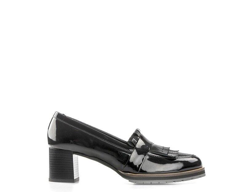Schuhe OLIVIA POSTER Frau NERO Lack - Optik,Python 30009NE