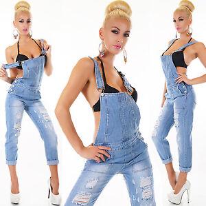 Tuta l da jeans Xs tuta jeans con in m donna blu per s blu xl rrgzSwqO