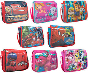 Image is loading Girls-Boys-Cross-Body-Messenger-Bags-Character-Book- 238a03237a4de