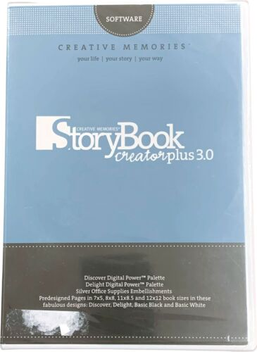 Storybook, Digital Content Collection CHOOSE ONE Creative Memories Software