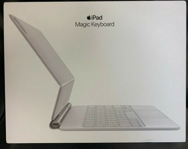 "Apple Magic Keyboard 11"" iPad Pro1st, 2nd & 3rd Gen White MJQJ3LL/A - Open Box"