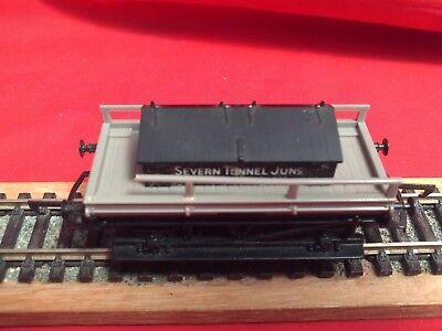 "Hornby R.028 G.w.r.""severn Tunnel Junction"" Toolbox Shunters Wagon In V.g.c. Ultimi Design Diversificati"