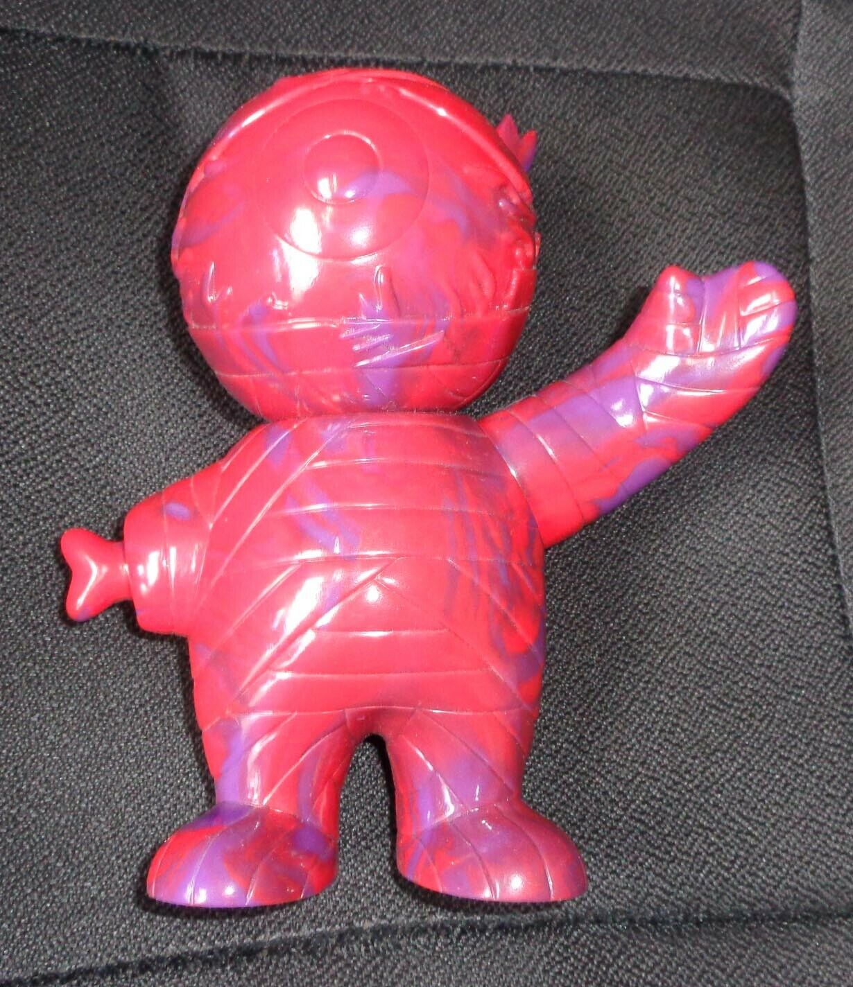 Super7 Mishka Keep Watch Mummy Boy Unpainted Red Purple Marble Vinyl Figure