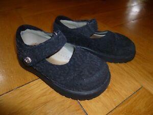 Mod 8 Mod8 schwarze Sandalen Mädchensandalen Schuhe Mädchen