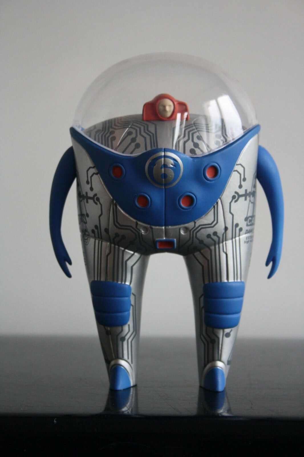 MARS-1  Berliner StrangeCo Desig Toy OBSERVER 8    PLANET 6 - blueE GREY Ed100 79f11e