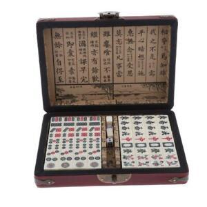 Mahjong-mAh-jong-sociedad-juego-con-maleta-set
