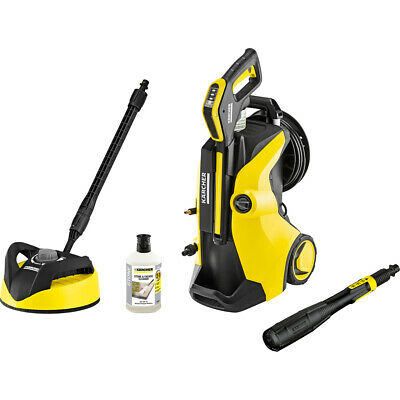 Karcher K5 Premium Full Control Plus Home Pressure Washer with T350 Patio