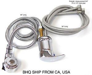 Faucet-and-Spray-Hose-for-Beauty-Salon-Shampoo-Bowl-Parts-Kit-Silver-Head