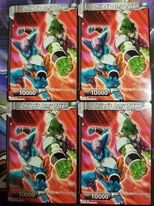 Shadow Token 4x DBS-BE03 Dragon Ball Super