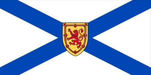 ***NOVA SCOTIA CANADA VINYL FLAG DECAL STICKER***
