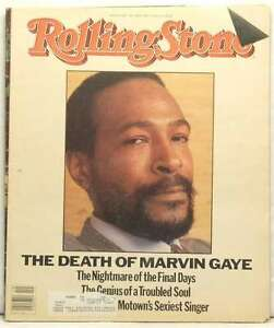 Rolling Stone Magazine Issue 421 Marvin Gaye Death