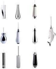 Bathroom Toilet Pull Cord Light Switch Chrome, Porcelain, Modern, & Traditional