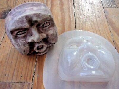 """Hamsa hand poly plastic mold plaster concrete resin mould 3.5/"""" x 3/"""" x 3//4/"""" thick"""