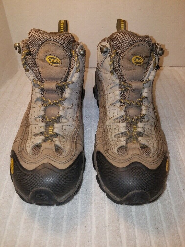 Oboz Women's Yellowstone BDRY Multisport Mid Cut Boot Sz 9.5 Barley