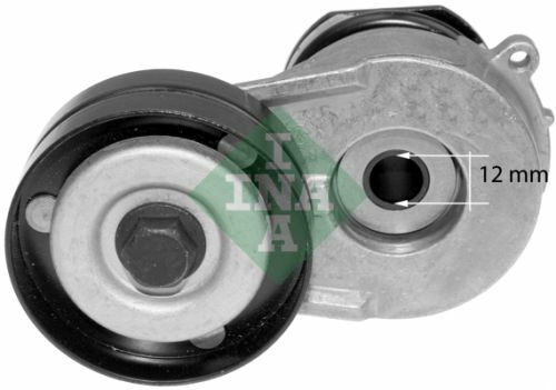 INA Tensioner Lever v-ribbed belt 5340321 10 Fit with Opel Astra H