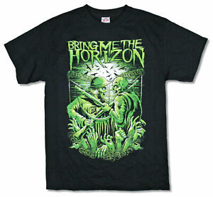 Bring-Me-The-Horizon-WW3-World-War-3-Black-T-Shirt-New-Official-BTMH-Merch