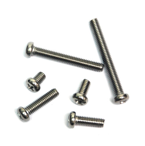 50pc Pan Head Stainless Steel Machine Screw M4x30 pitch=0.7mm M4x30x0.7 Taiwan