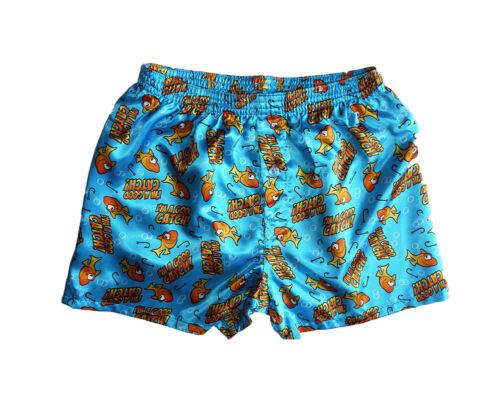 Men's Sleepwear Satin Silk Underwear Boxers Shorts Pants Pajama Bottom PJs S-2XL