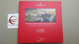 2019-coffret-BU-9-pcs-8-88-EURO-ITALIE-ITALIA-5-MACCARI-Italien-Italy-KMS-fdc