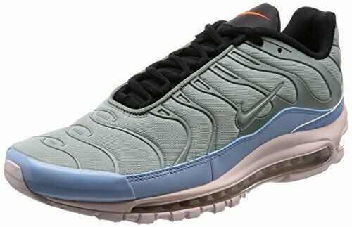 Nike Men S Air Max 97 Plus Mica Green Leche Blue Sz 9 5 Ah8144 300