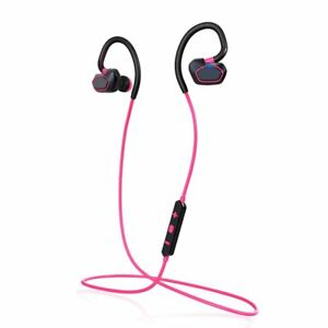stereo PINK Noise sweatproof Sports annullamento Wireless Gym Cuffie Bluetooth Bvfv6FI