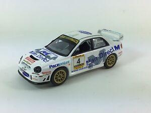 Voiture de rallye Subaru Wrc de code 3 basée sur le code 3 de Bell et Harrison
