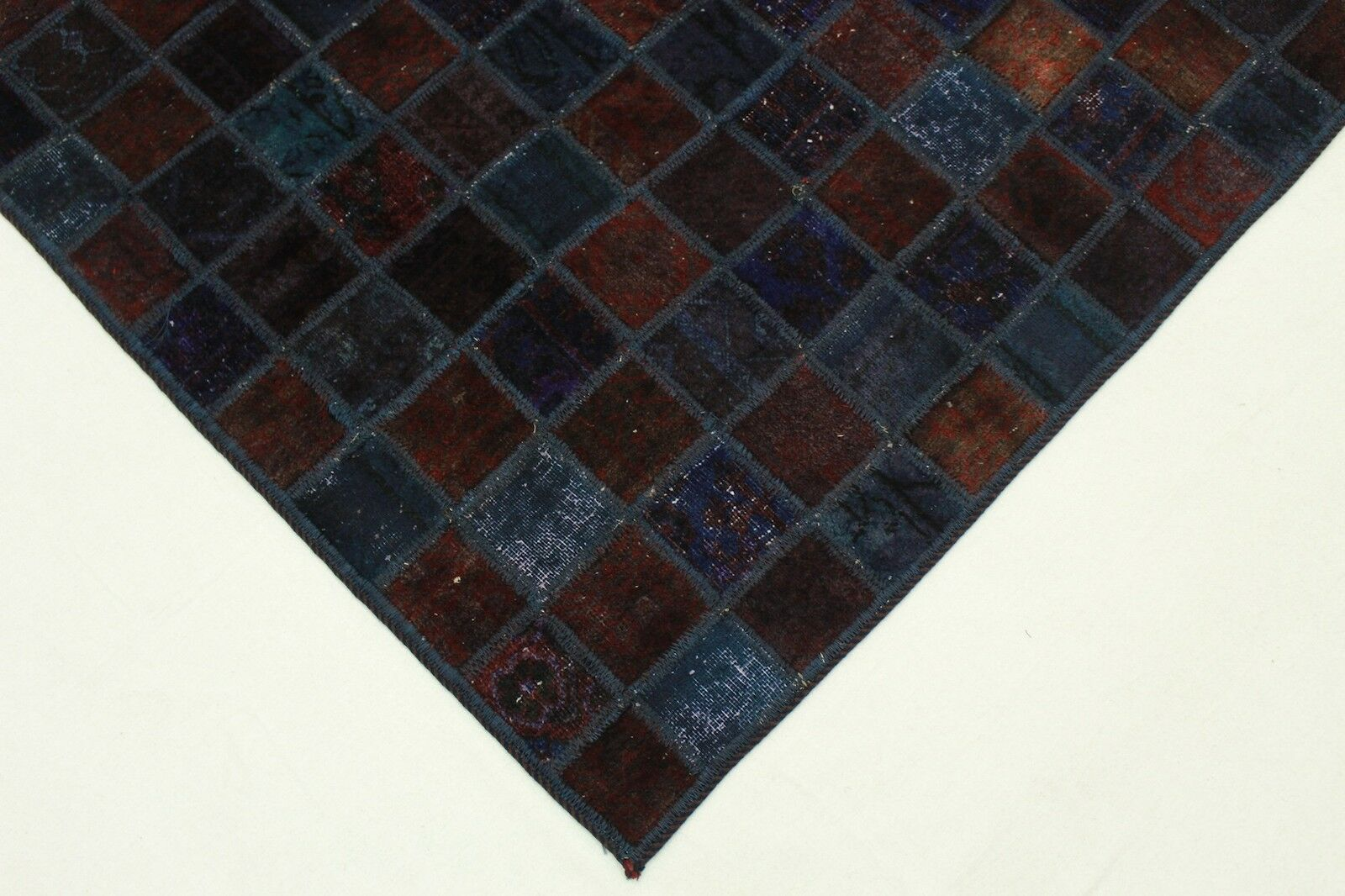 Patchwork Orient Teppich Vintage Vintage Vintage 200x140 braun rost modern Trend Used Look 2622 4ac48b