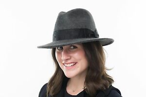 Details about BRAND NEW LADIES GREY MIX WOOL CRUSHABLE CASUAL FASHION  TRILBY FEDORA HAT BETH 0298a5540d5
