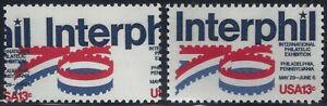 "1632 - 13c Huge 2-Way Color Shift Error / EFO ""Interphil 76"" Mint NH"