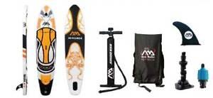 "Aqua Marina Magma Paddle Board 10'10"" Inflatable Stand Up Paddleboard w/ Paddle"