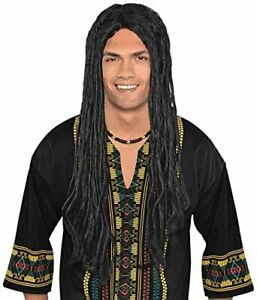 Easy-to-Fit-Synthetic-Hair-Long-Dreadlocks-Rasta-Wig-Costume-for-Teens-amp-Adults