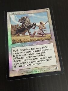 MTG-ONSLAUGHT-WEATHERED-WAYFARER-FRENCH-VOYAGEUR-HALE-NM-FOIL